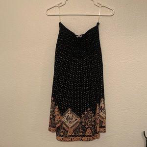 NWT Strapless Aztec Dress Size M